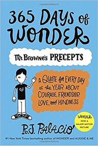 Обложка 365 Days of Wonder: Mr. Browne's Book of Precepts