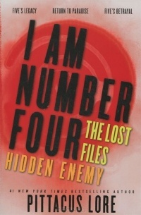 Обложка I Am Number Four: The Lost Files: Hidden Enemy