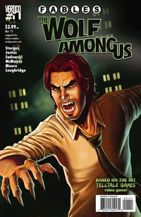 Обложка Fables: The Wolf Among Us: Volume 1