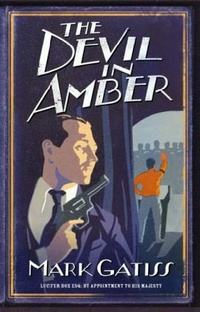 Обложка The Devil in Amber: A Lucifer Box Novel