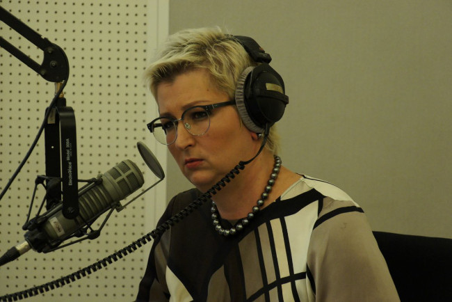 Татьяна Устинова на радио