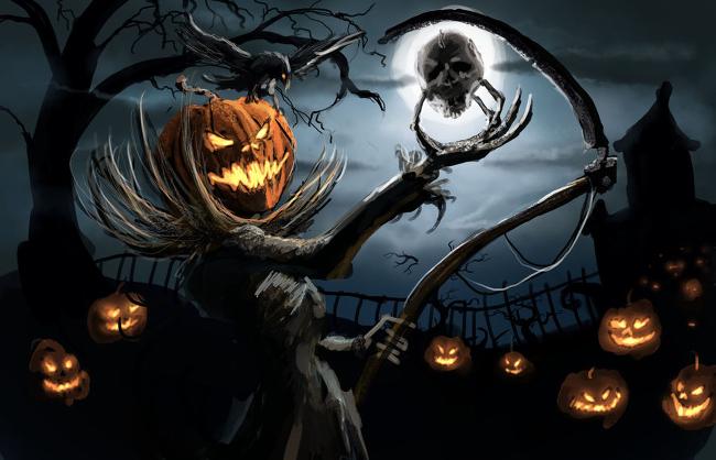 Хэллоуин на Readly